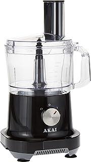 Akai 15-in-1 Food Processor, Black/Clear, 500W, FPMA-1801