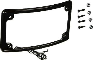 Custom Dynamics LPF-RAD-B-LP Black License Plate Frame (Radius-Style