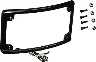 Custom Dynamics LPF-RAD-B-LP License Plate Frame (Radius-Style Black)