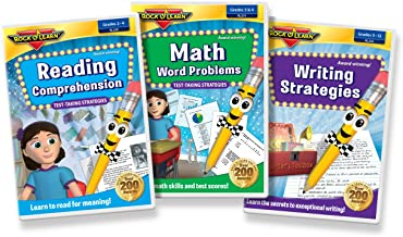ROCK N LEARN Test Prep DVD Collection - Reading Comprehension, Math Word Problems and Writing Strategies