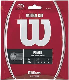 Wilson Natural Gut 16 Tennis String
