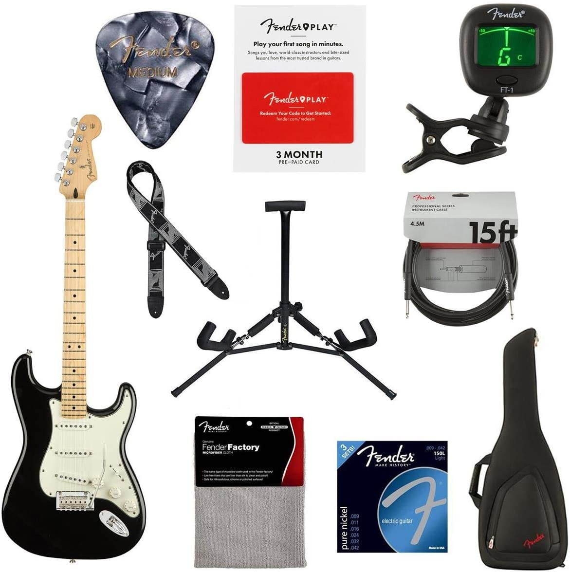 Genuine Free Shipping Fender Player Stratocaster Electric Guitar specialty shop 22 Frets