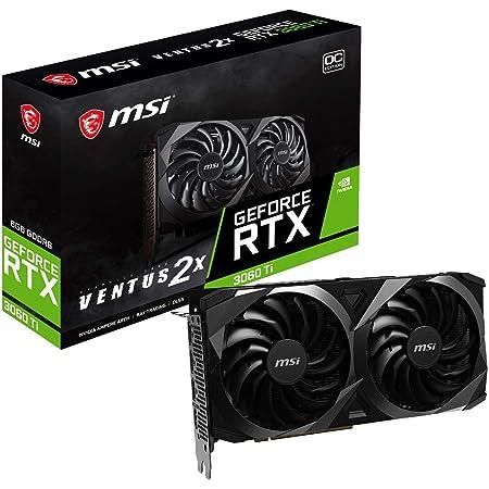 MSI GeForce RTX 3060 Ti VENTUS 2X OC グラフィックスボード VD7445