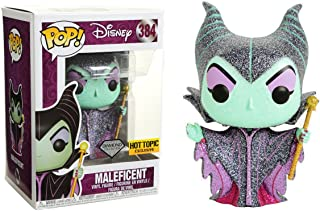 Funko Maleficent [Diamond Collection] (Hot Topic Exclusive) POP! Disney x Sleeping Beauty Vinyl Figure + 1 Classic Disney Trading Card Bundle [#384 / 29132]