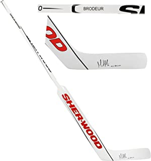 Martin Brodeur New Jersey Devils Autographed Sher-wood GS650 Game Model Goalie Stick with