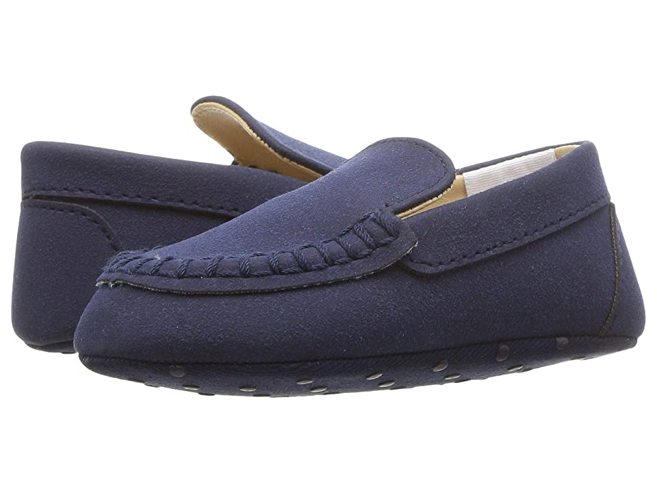 Janie and Jack Loafer Crib Shoe (Infant) (Navy) Boy