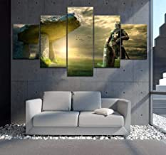 5 print picture posters Knight Templar movie landscape canvas wall artist home decoration living room canvas painting