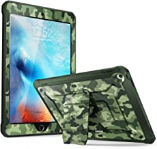 SUPCASE [Unicorn Beetle Pro Series] Case Designed for iPad 9.7 2018/2017, with Built-in Screen Protector & Dual Layer Full Body Rugged Protective Case for iPad 9.7 5th / 6th Generation (Camo)