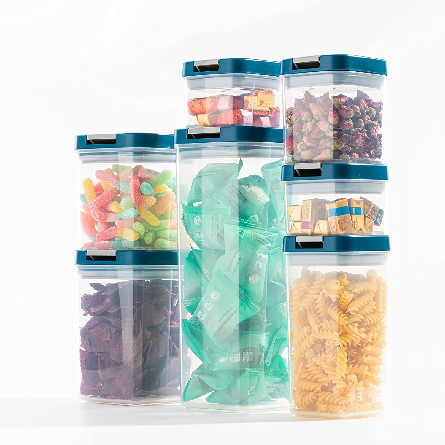 POOCAR Airtight Food Storage Containers Set 100% Airtig Ranking integrated 1st place NEW before selling PCS 7 -