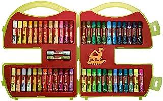 Camel Mixing-Ka-Magic Oil Pastel - 50 Shades (Multicolor) Drawing Color Crayons