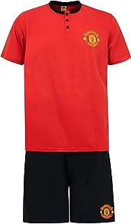 Manchester United Mens Pyjamas Red Size Large