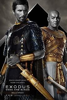 EXODUS GODS AND KINGS MOVIE POSTER 2 Sided ORIGINAL Ver C 27x40 CHRISTIAN BALE JOEL EDGERTON