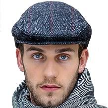Mucros Weavers Charcoal Gray Tweed Flat Cap, Made in Ireland