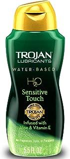 Trojan Lubricants H2O, Sensitive Touch, 5.5 Oz