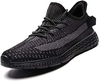 GSLMOLN Running Shoes Men Fashion Mesh Ultra Lightweight Sport Gym Shoes Mens Cross Training Slip-On Casual Shoes for Walking