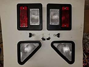 zt truck parts 2X Rear Light Assembly 6670284 Fit for Bobcat S160 S175 S185 S205 S250 751 753 763 773 863 963
