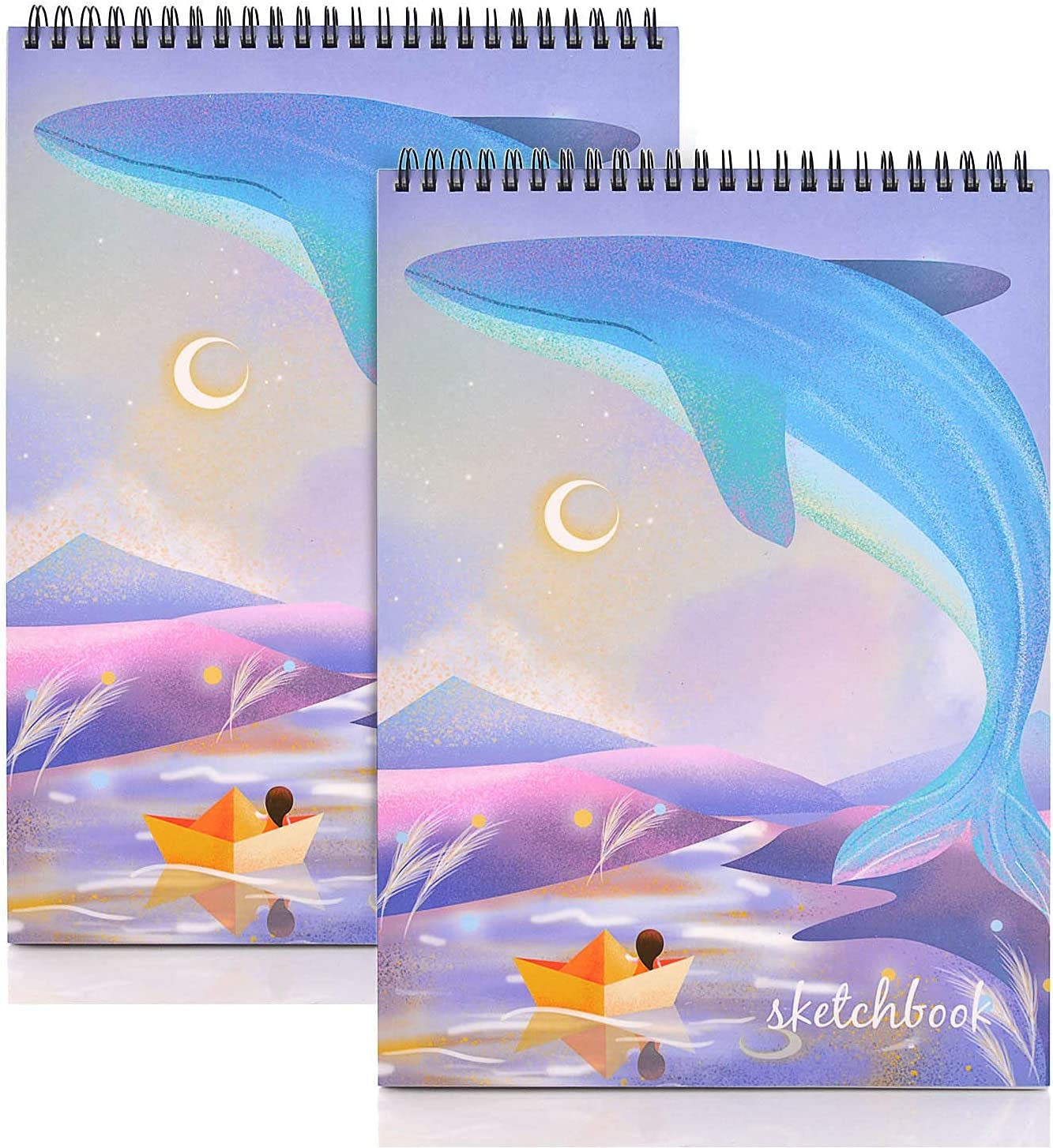 """MEMX 8""""X11.5"""" Sketch Book 2 Pages High quality Pack Spi 110gsm 100 Ranking integrated 1st place"""