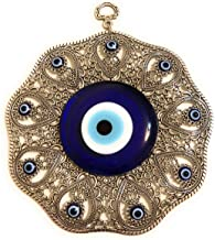 Bion Large Evil Eye Wall Hanging Turkish Evil Eye Greek Evil Eye - Big Evil Eye Wall Decor Turkish Evil Eye Greek Evil Eye...
