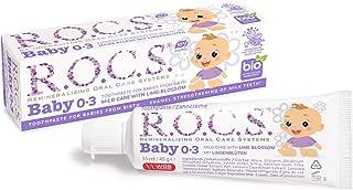 R.O.C.S. Baby 0-3 Yaş Ihlamur Özlü Florürsüz Bebek Diş Macunu 1 Paket