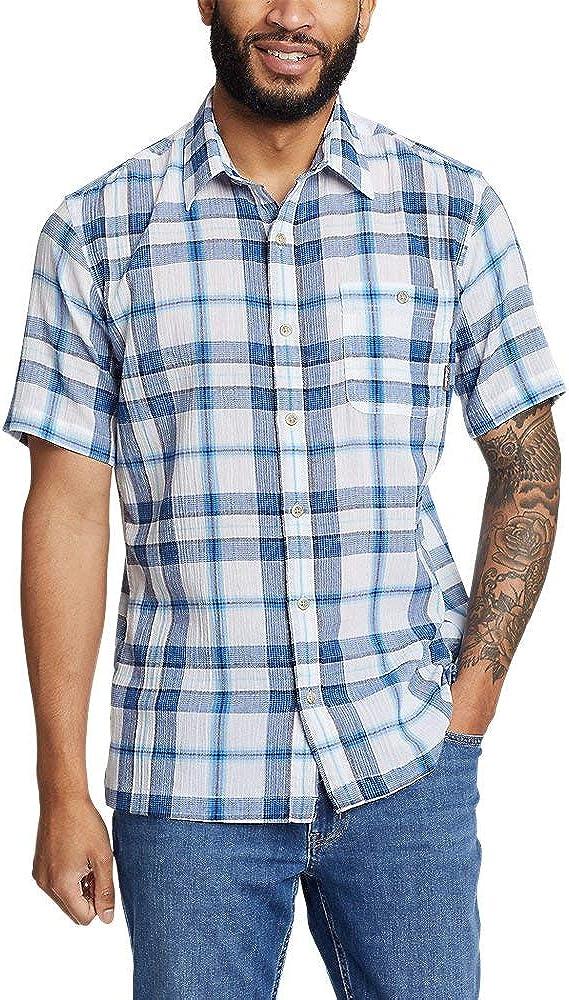 Eddie Bauer Men's Ocean Breeze Short-Sleeve Shirt