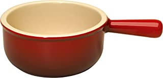 Le Creuset Stoneware 16-Ounce French Onion Soup Bowl, Cerise (Cherry Red)