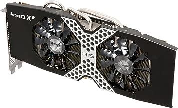 HIS R9 280X iPower IceQ X2 Boost Clock 3GB/GDDR5/PCI-E/DLDVI-I/HDMI/2xMini DP Graphics Card H280XQM3G2M