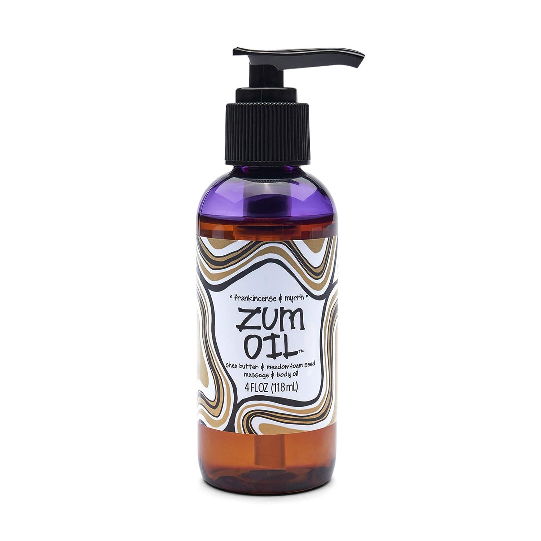 outlet Zum Massage and Body Oil - oz Frankincense fl Free shipping New 4 Myrrh