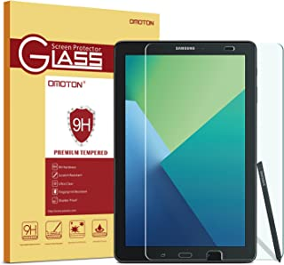 OMOTON Tempered Glass Screen Protector for Samsung Galaxy Tab A 10.1 S Pen Version Screen Protector. Only fits SM-p580/SM-p585 s Pen version , 1-Pack
