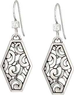 Brighton - Deco Diamond French Wire Earrings