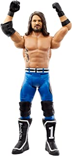 WWE Action Figure in 6-inch Scale with Articulation & Ring Gear, Aj Styles