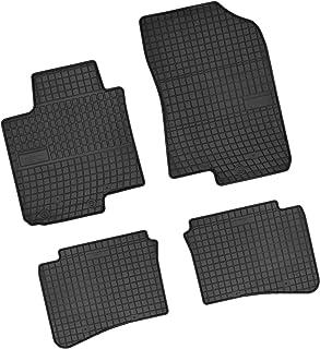Bär AfC HY09971 Gummimatten Auto Fußmatten Schwarz, Erhöhter Rand, Set 4 teilig, Passgenau für Modell Siehe Details