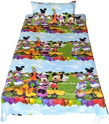 Mahi Fashion Cotton 240 TC Bedsheet (Multicolour_Standard)