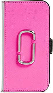 Marc Jacobs Double J Folio iPhone 8 Case, Pink Multi, iPhone X