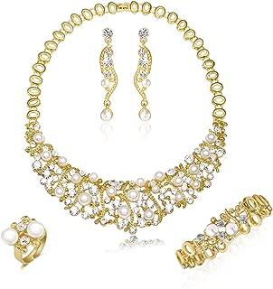 Best bridal choker necklace gold Reviews