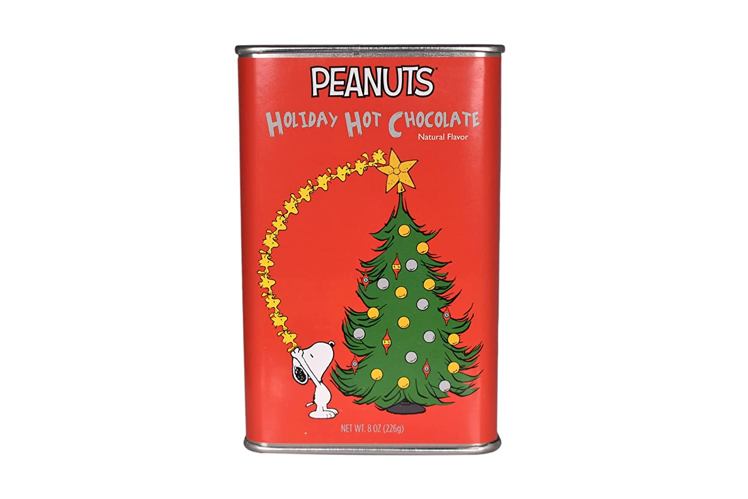 Max 61% OFF McStevens Hot Cocoa Peanuts Snoopy Star Christmas Tin Tree and Clearance SALE! Limited time!