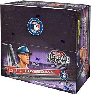 2017 Topps Update Series Retail Booster Box (Factory Sealed) - Contains 24 Packs With 12 Cards Per Pack