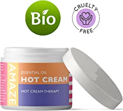 Premium Cellulite Natural Skin Care Treatment Anti-Aging Cream Skin Tightening Moisturizer Massage Boosts Circulation for Muscle and Joint Pain Relief Antioxidant Pure Essential Oils for Smooth Skin
