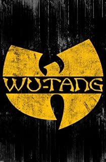 Pyramid America Wu Tang Clan Logo Music Cool Wall Decor Art Print Poster 24x36