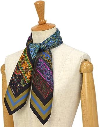[Pierre Louis Mascia【ピエールルイマシア】]スカーフ ALOE65 44067 シルク ペイズリー