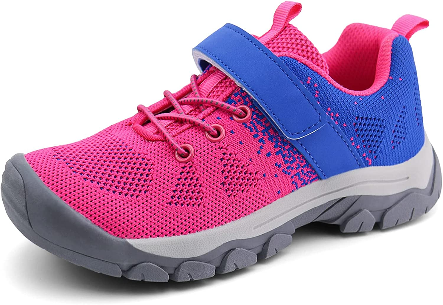 brooman Kids Hiking Shoes Boys Girls Trail Running Shoes Outdoor Walking Sneakers