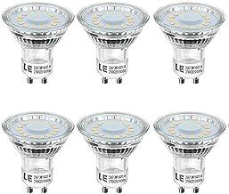 GU10 LED الموفرة للطاقة لمبات، 50W لمبات هالوجين أي ما يعادل، 5W 500 لومينز عدم عكس الضوء، 2700K 120 درجة زاوية الشعاع، لت...