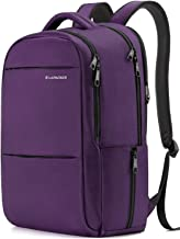 LAPACKER 15.6-17 inch Business Laptop Backpacks for Women Mens Water Resistant Laptop Travel Bag Lightweight College students Notebook Computer Backpack - Purple