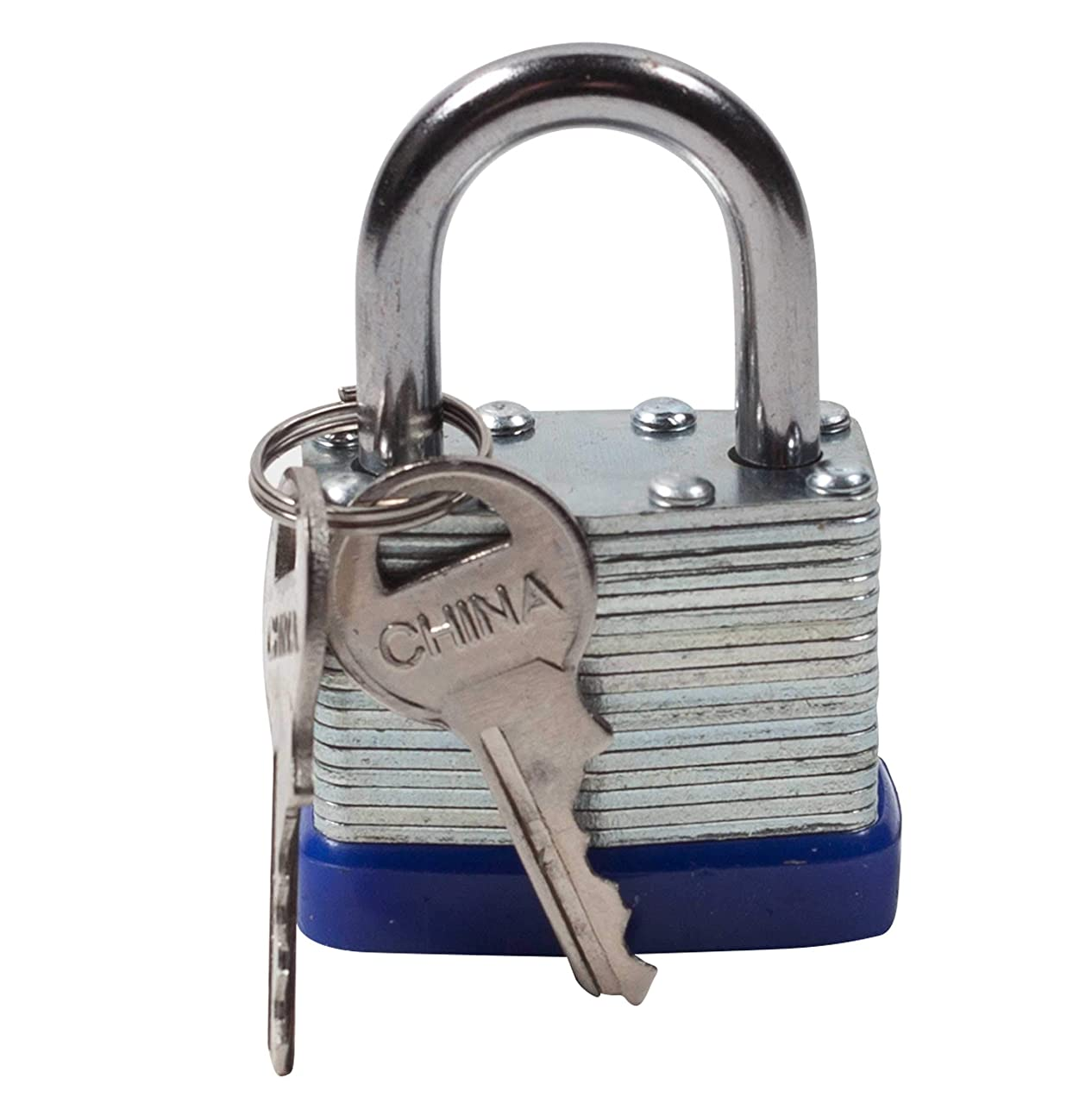 Jacent Secure Heavy Duty Padlock with 2 Keys, 1-Pack