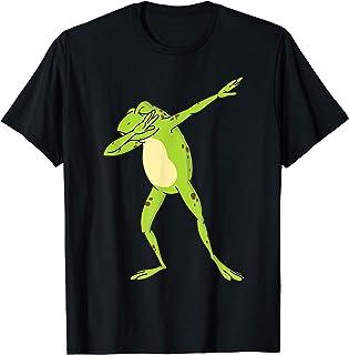 Frosch Tupfen Lustiges Tierhemd Tupfen Frosch T-Shirt