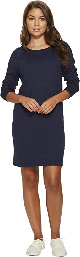 Roxy - Winter Story Long Sleeve Button Back Dress