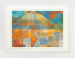 Paul Klee Framed Collector Poster - Ad Parnassum, 1932 (16 x 12 inches)