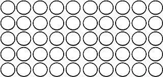 Nitrile 90 Durometer Hardness Sterling Seal OR90BLKBUN111X1000 111 BUNA//NBR O-Ring Pack of 1000