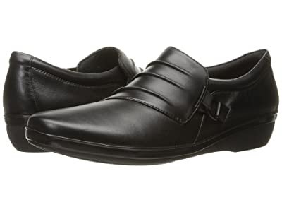 Clarks Everlay Heidi (Black Leather) Women