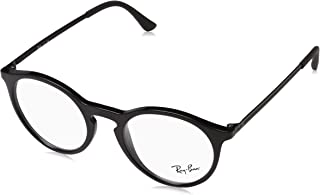 Men's RX7132 Eyeglasses Shiny Black 50mm