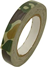 JVCC CAM-01 Premium Grade Camouflage Duct Tape: 3/4 in. x 75 ft. (Woodland Forest Green)